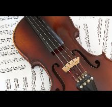 Violin on Music